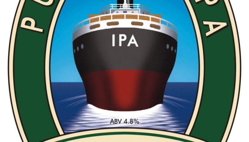 Isle of Purbeck Brewery IPA pumpclip JPG