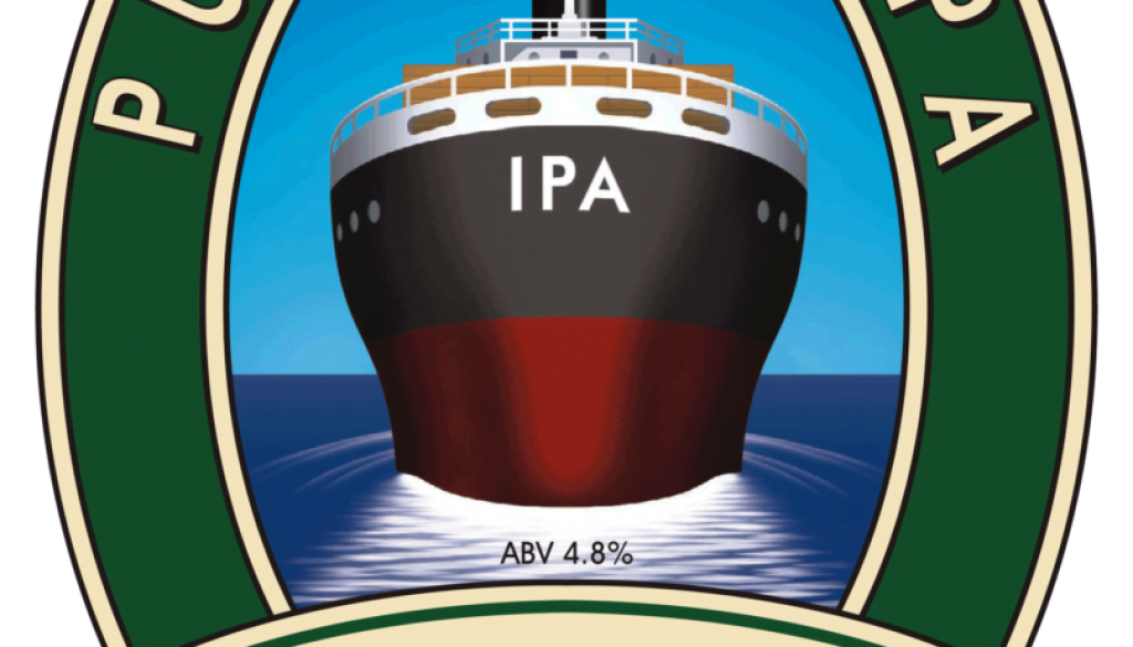 Isle of Purbeck Brewery IPA pumpclip PNG