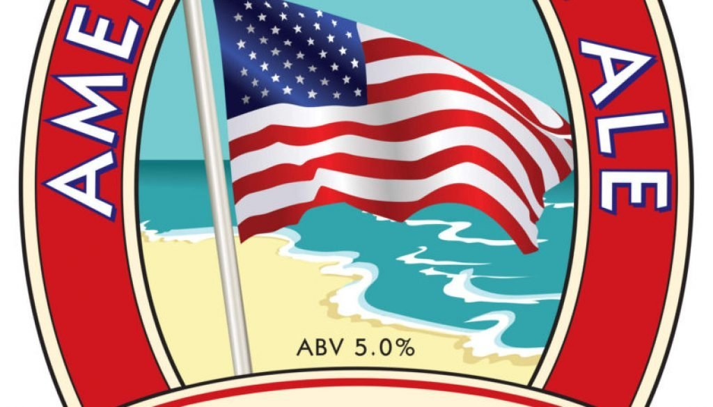 Isle of Purbeck Brewery American Pale Ale pumpclip JPG