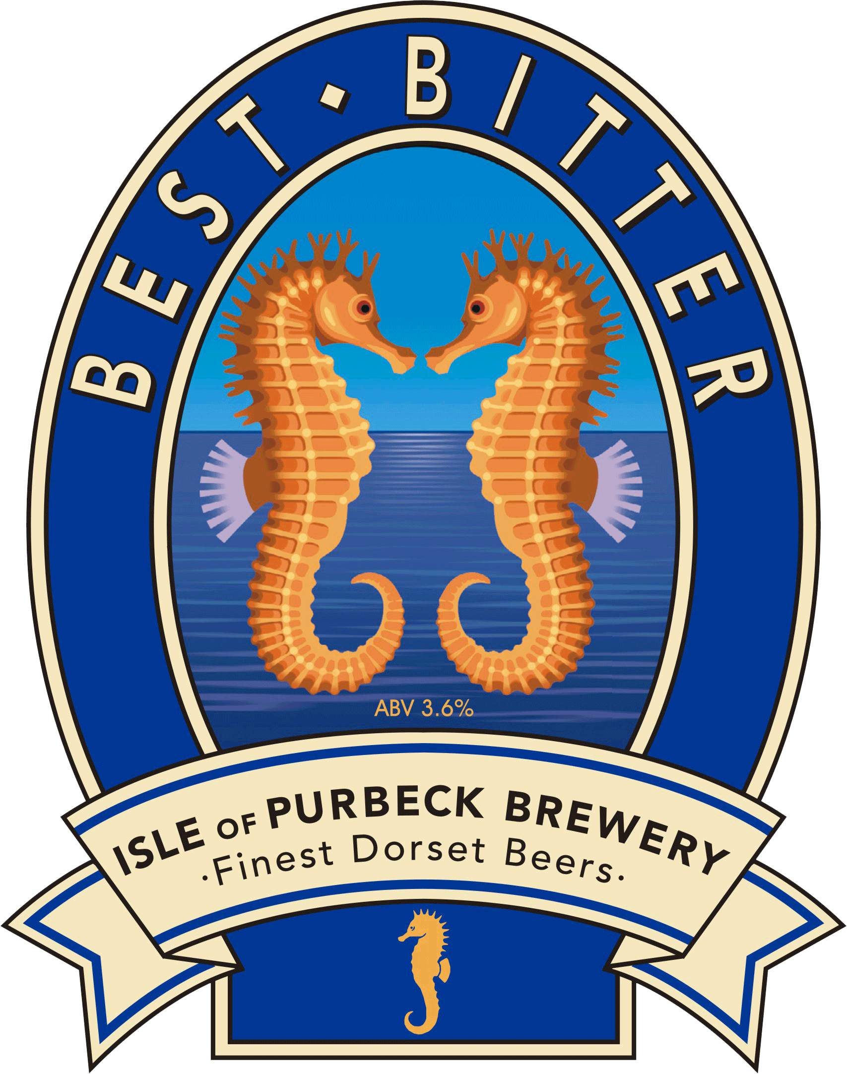 Isle of Purbeck Brewery Best Bitter pumpclip PNG