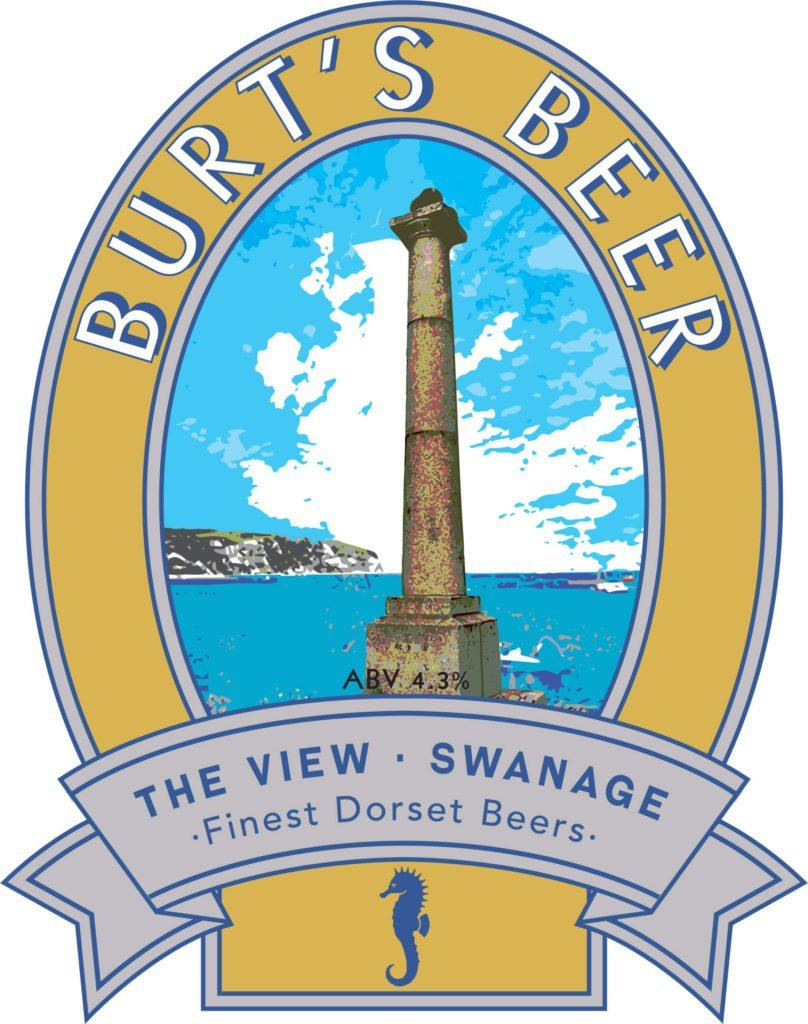 Isle of Purbeck Brewery Burt's Beer pumpclip JPG