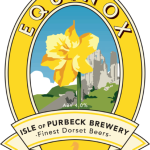 Isle of Purbeck Brewery Equinox pumpclip PNG