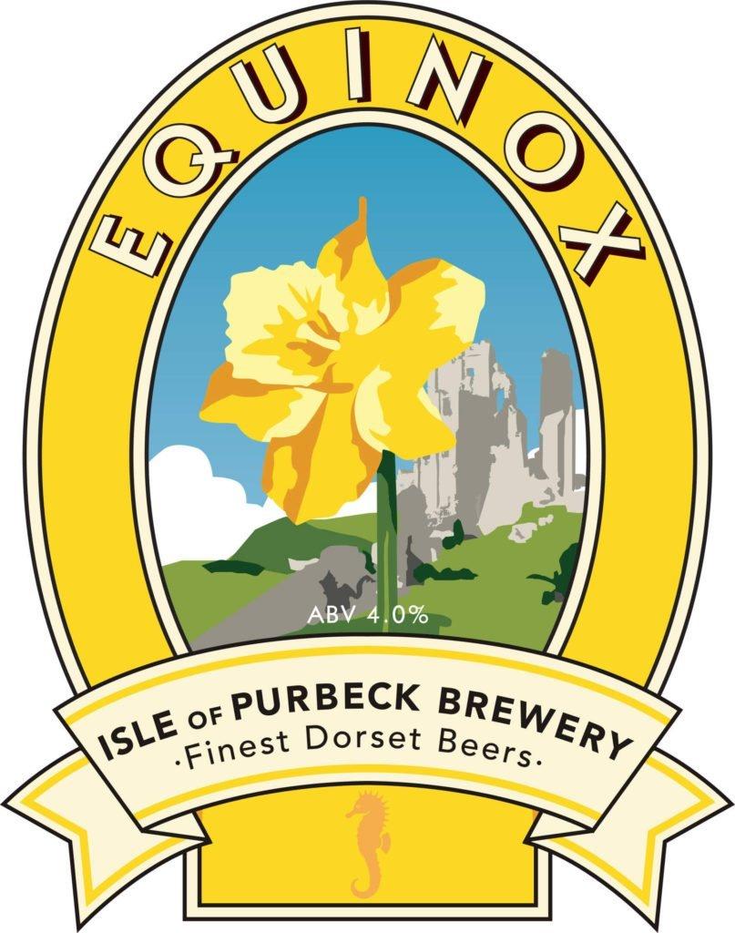 Isle of Purbeck Brewery Equinox pumpclip JPG