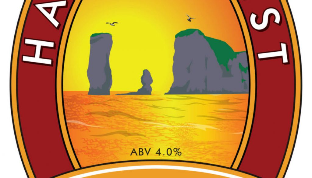 Isle of Purbeck Brewery Harry's Best pumpclip JPG