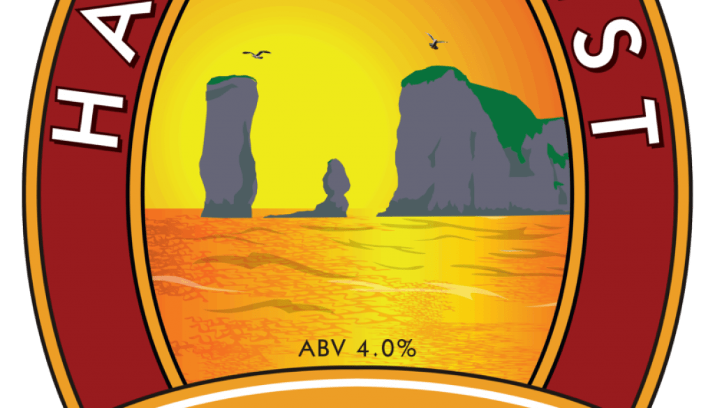 Isle of Purbeck Brewery Harry's Best pumpclip PNG