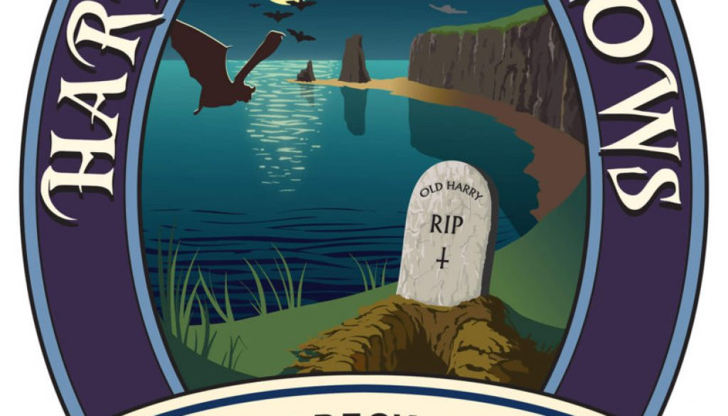 Isle of Purbeck Brewery Harry's Hallows pumpclip JPG