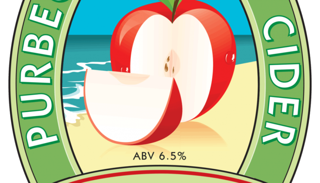 Isle of Purbeck Brewery Purbeck Pommes Cider pumpclip PNG