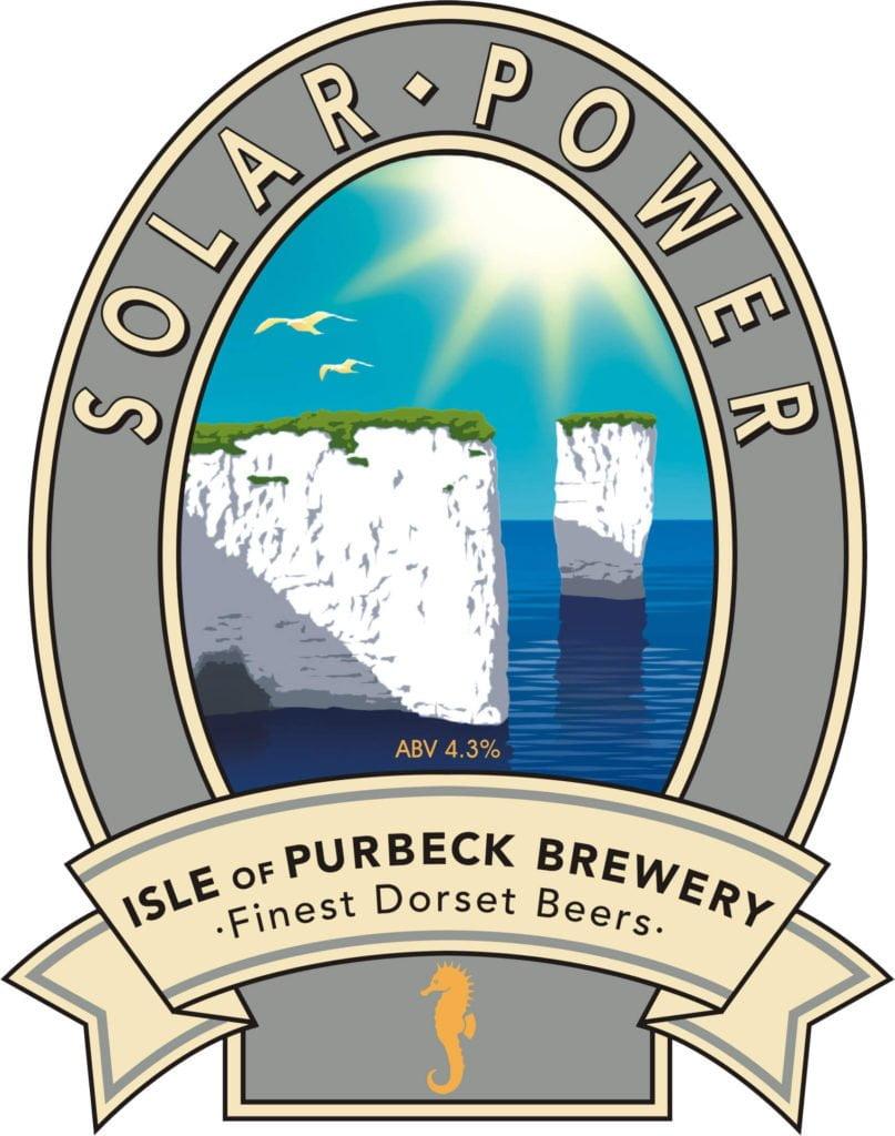Isle of Purbeck Brewery Solar Power pumpclip JPG