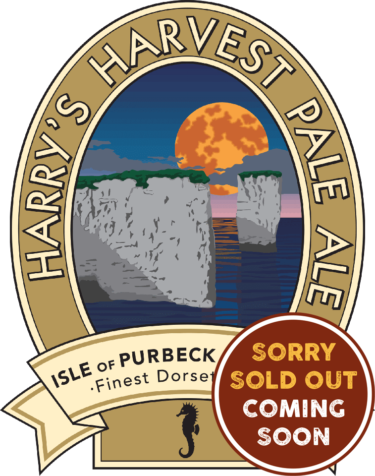 Isle of Purbeck Brewery Harry's Harvest Pale Ale Sold Out