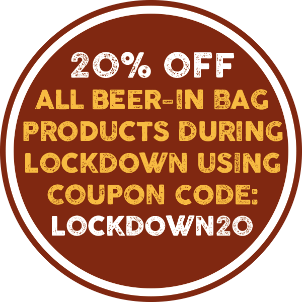 Isle of Purbeck 20% Lockdown Discount on Online Beer-in-Bag purchases