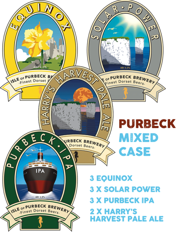 Isle of Purbeck Brewery | Purbeck Mixed Bottle Case