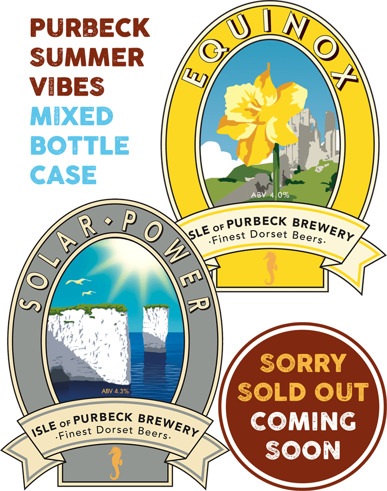 Isle of Purbeck Brewery | Purbeck Summer Vibes Mixed Bottle Case | SOLD OUT