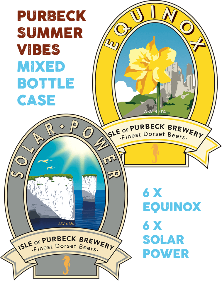 Isle of Purbeck Brewery | Purbeck Summer Vibes Mixed Bottle Case