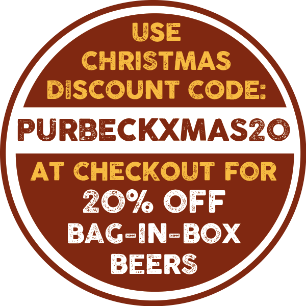 Isle of Purbeck 20% Christmas Discount on Online Bag-in-Box Beers