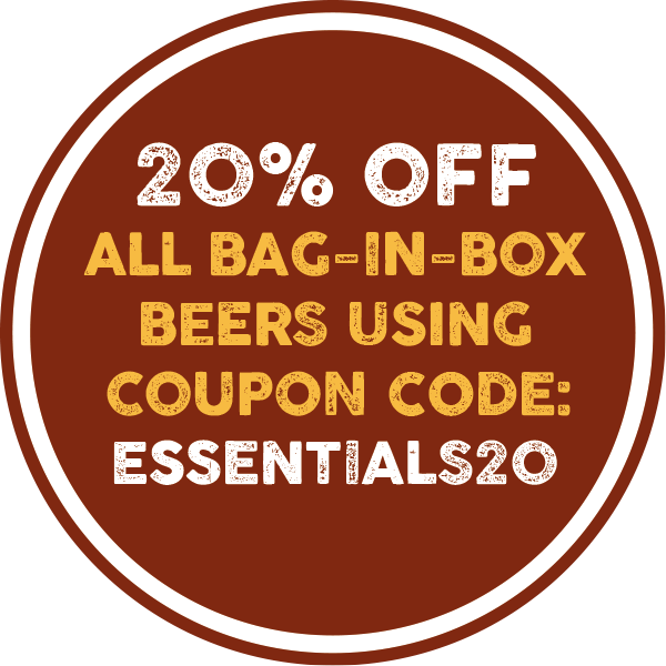 Isle of Purbeck 20% Discount on Online Bag-in-Box Beers