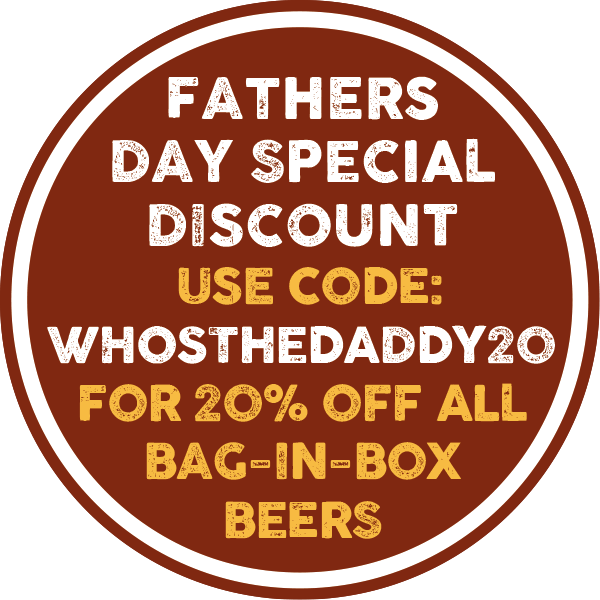 Isle of Purbeck Father's Day 20% Online Discount on all Bag-in-Box Beers