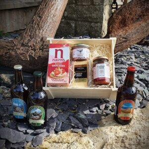 Isle of Purbeck Brewery Beer, Pate & Cheese Hamper
