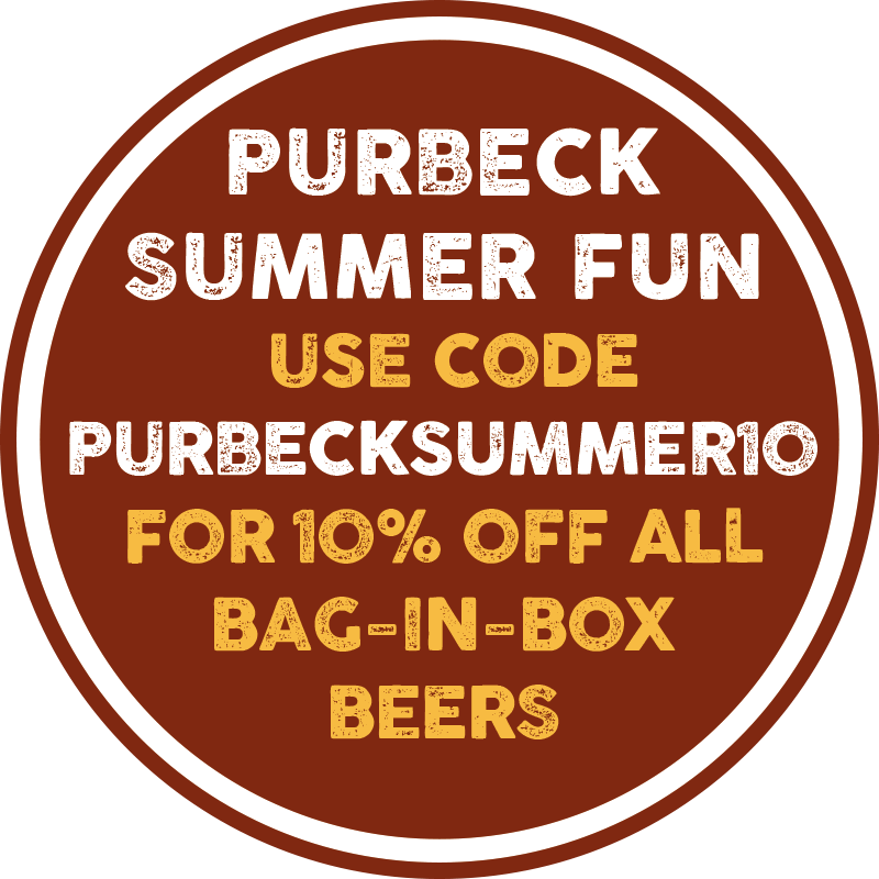 Purbeck Summer Fun - 10% off all Isle of Purbeck Brewery Bag-in-Box Beers