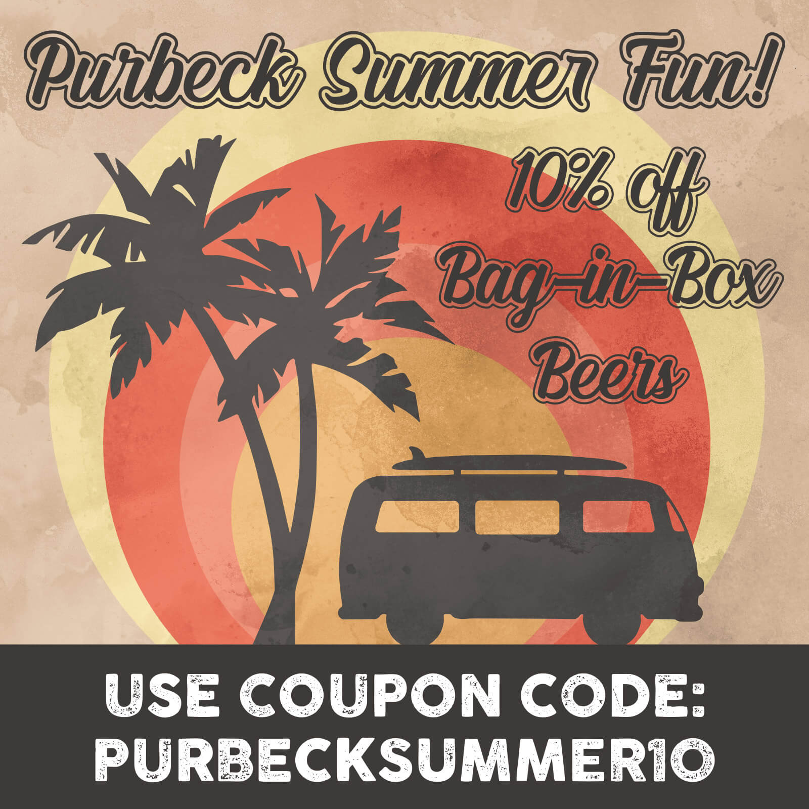 PURBECKSUMMER10 - 10% off all Isle of Purbeck Brewery Bag-in-Box beers